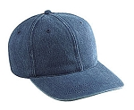 Unstructured Cotton Denim Cap
