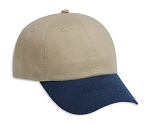 Brushed Cotton Unstructured Cap