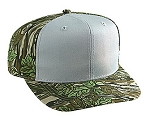 Camouflage poly/cotton structured cap