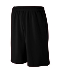 Augusta Boys Longer Length Wicking Mesh Athletic Shorts