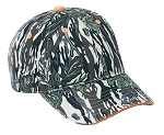 Camouflage poly/cotton cap