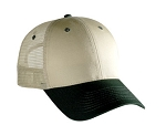 Cotton/Poly Cap with Mesh Back