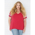 Ladies Curvey Football Jersey
