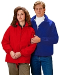 Cardinal Activewear Nylon Coaches Jacket/Windbreaker large mens sizes light lined