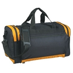 Duffel Bag with Protruding Pocket