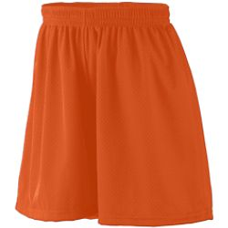 Girls Lined Tricot Mesh Shorts By Augusta Sportswear