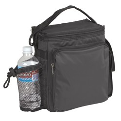 Insulated 12-Pack Cooler; shown in black