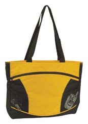 Sportsment Poly Tote; shown in Yellow/Black