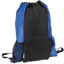 Islander Drawstring Tote/Backpack in One; shown in Royal/Black