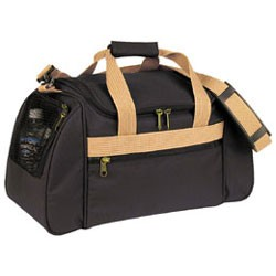 Sports Bag with vented end pockets