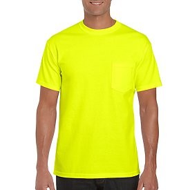 Safety Green Pocket T-Shirt