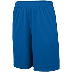 Youth Wicking Training Shorts with Pockets by Augusta Sportswear; available in 6 colors