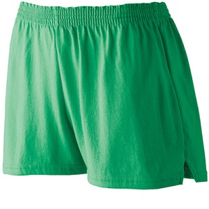 Ladies Cotton/Poly Blend Trim Fit Shorts by Augusta Sportswear; available in 13 colors